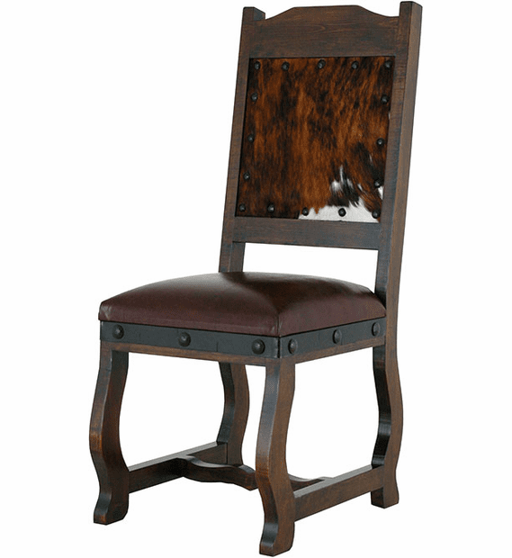 Granada Rustic Cowhide Dining Chair