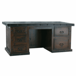 Granada Rustic Executive Desk