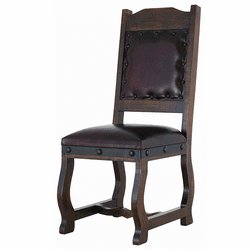 Granada Rustic Leather Dining Chair