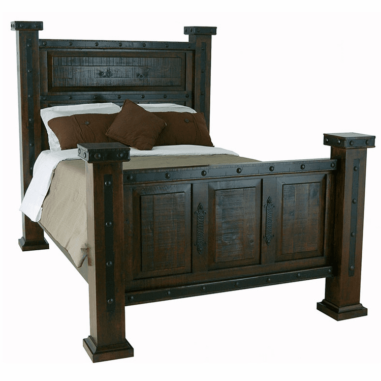 Granada Rustic Mansion Bed
