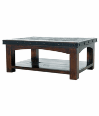 Granada Rustic Rectangular Coffee Table