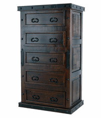 Granada Rustic Tall Chest