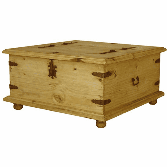 Grande Rustic Trunk Coffee Table