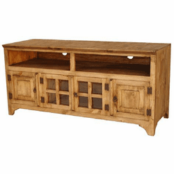 "Hacienda 60"" Rustic TV Stand Short"