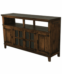 "Hacienda 72"" Dark Rustic TV Stand"