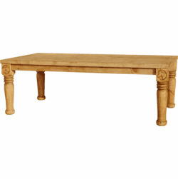Hacienda Horse Rustic Dining Table