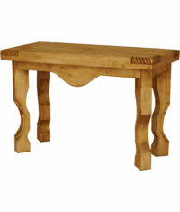 Hacienda Rustic Console Table