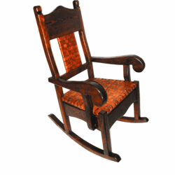 Hacienda Rustic Rocking Chair