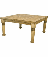 Hacienda Rustic Square Dining Table 60""