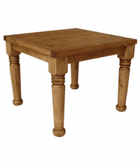 Hacienda Rustic Square Table