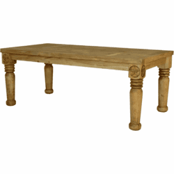 Hacienda Rustic Star Dining Table