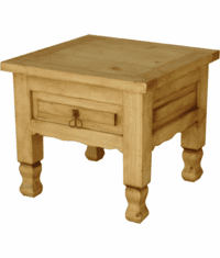 Hidalgo Rustic End Table