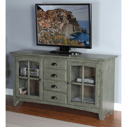 "Jalisco Green 64"" TV Console"