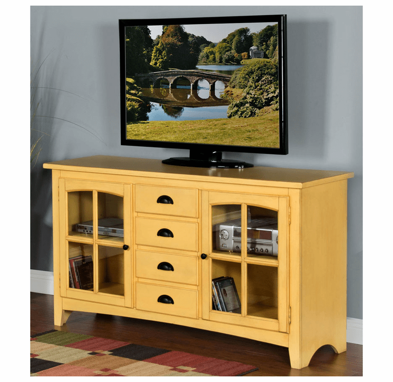 "Jalisco Tuscan Yellow 64"" TV Console"