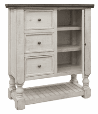 La Paz Rustic Two-Tone Bed Chest