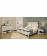 La Paz Rustic Two-Tone Bedroom Set