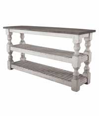 La Paz Rustic Two-Tone Console Table 61""