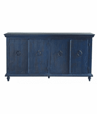 Laredo Blue Console Table 73""