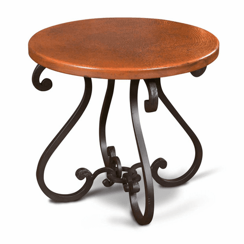 Laredo Copper End Table