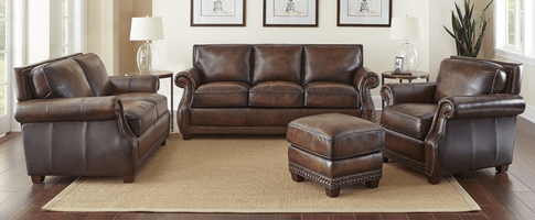 Laredo Leather Sofa Set