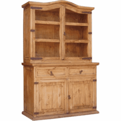 Laredo Rustic China Hutch & Buffet
