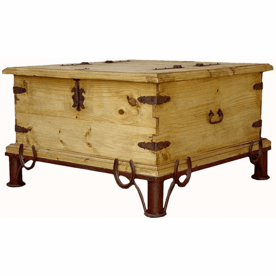 Laredo Rustic Coffee Trunk Table