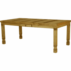 Laredo Rustic Star Dining Table