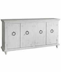 Laredo White Console Table 73""