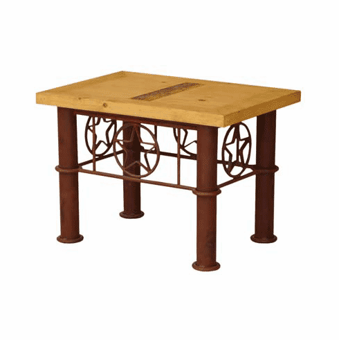 Lone Star End Table
