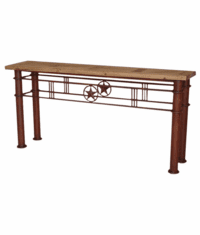 Lone Star Iron Console Table