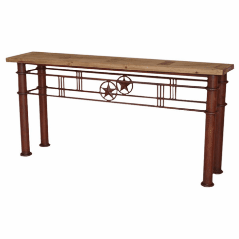 "Lone Star Iron 63"" Console Table"