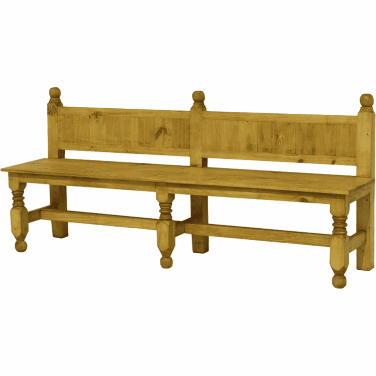 Fine Pine Church Bench Wood Bench And Rustic Bench With Back Creativecarmelina Interior Chair Design Creativecarmelinacom