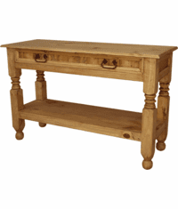 Lyon Rustic Console Table