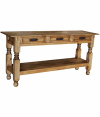 Lyon Rustic Console Table 60""