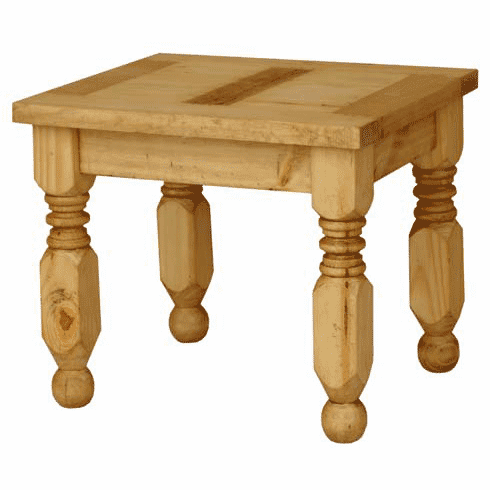Lyon Rustic End Table