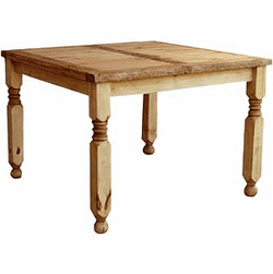 Lyon Square Rustic Dining Table