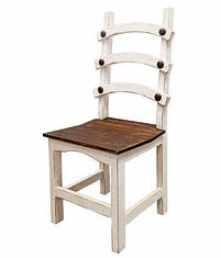 Lyon White Dining Chair
