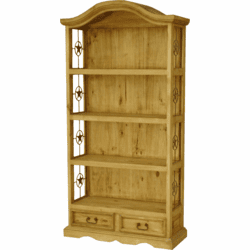 Mansion Pine Bookcase W/ Stars
