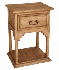 Merida Wood Night Stand Table