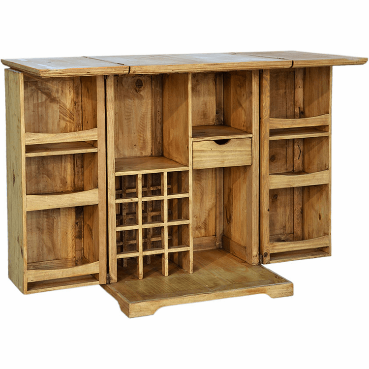Mexican Pine Wood Bar, Mexican Wood Furniture