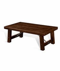 Modesto Rustic Mohagany Coffee table