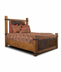 Montana Cabin Rustic Bed Frame