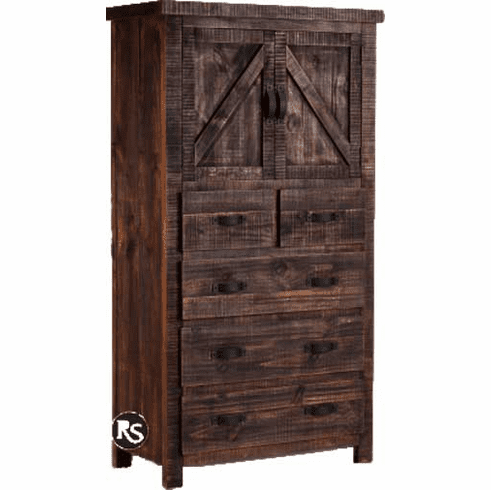 Old West Ranch Chest w/ Cabinet
