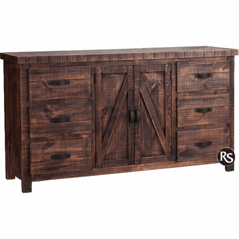 Old West Ranch Dresser