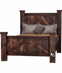 Old West Ranch Oasis Bed Frame