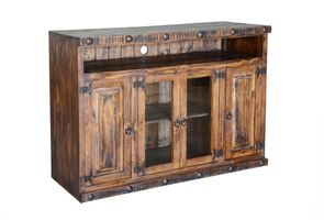 """Old West Rustic 50"""" TV Stand"""