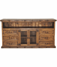 "Old West Rustic 70"" TV Stand"