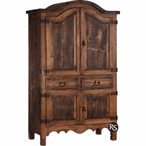 Rustic Armoire, Wood Armoire, Solid Wood Armoire