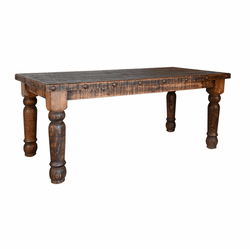 Old West Rustic Dining Table