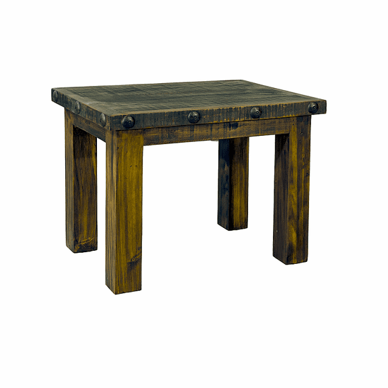 Old West Rustic End Table